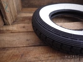 Whitewall tire CONTINENTAL,  3.50-8