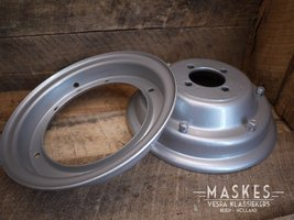 Rim 8 inch coated, with trade