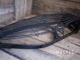 Coating saddle frame