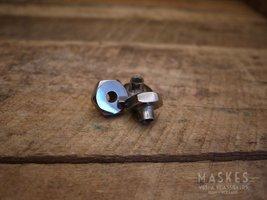 Velg Moer ''M8 Sleutel 22'' ''Verchroomd'' V1-15/V30-33/VU/VM