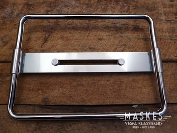 Licenseplate trim chrome largeframe/wideframe