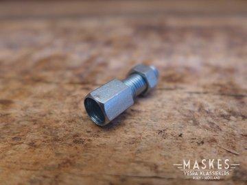Adjuster screw M6 carburettor