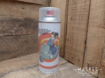 Spray can Max Meyer in color