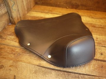 Cover Single Saddle front blue VNB1-5T/VBA/VBB/GLA-B/GL-X