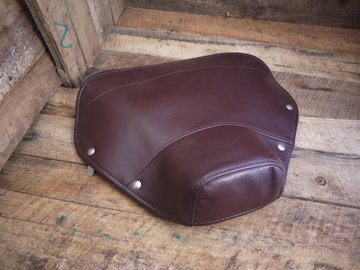 Cover Single Saddle front dark brown VNB1-5T/VBA/VBB/GLA-B/GL-X