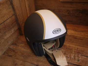 Premier helmet black striping