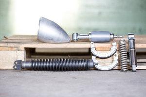 Rear shockabsorber/brakes