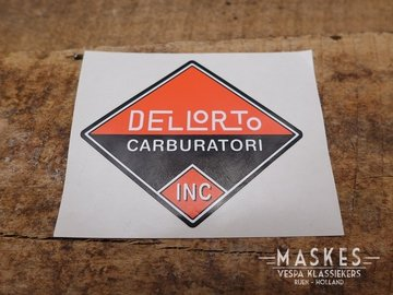 Sticker Dellorto
