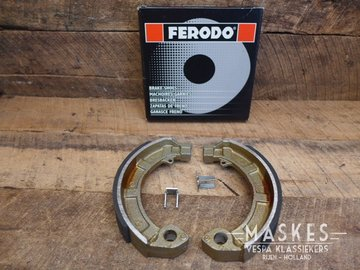 Break shoes Ferodo rear GT/GS150/GL-X/Sprint/GS160/SS180/Rally/P-serie/PX