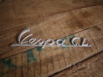 Logo Vespa GL aluminum