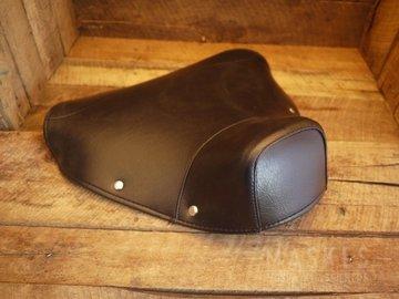 Cover Single Saddle front black VNB1-5T/VBA/VBB/GLA-B/GL-X