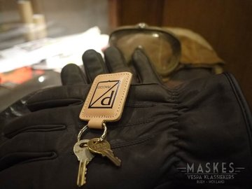 Key chain leather